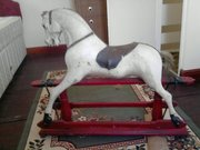 Wanted old wood rocking horse similar to picture