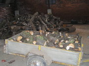 seasoned hardwood kindling and logs for sale,  free delivery starts £2+