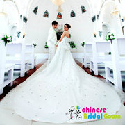 Chinese Bridal Gown, Chinese Wedding Dress - www.chinesebridalgown.com