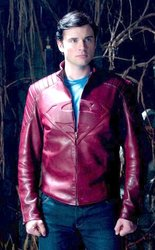 Super man smallville leather jacket