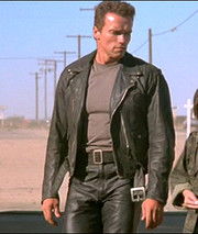Terminator Arnold Schwarzenegger Leather Jacket