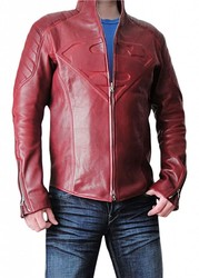 Smallville Superman Synthetic Leather Jacket