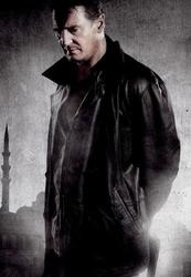 Taken 2 Black Bryan mills Leather Jacket