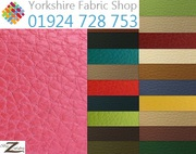 Faux Leather Fabric Yorkshire