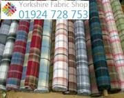 Tartan Upholstery Fabric
