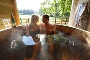 Hot Tub for Your Luxurious,  Romantic and Cosy Self-Catering Holiday