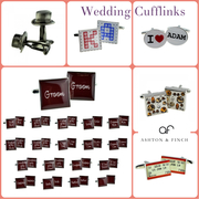 Wedding Cufflinks at Ashton and Finch