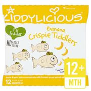 Kiddlycious Banana Crispie Tiddler 12g x18