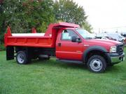 2007 Ford F450 Sd Dump Truck 208  for sale